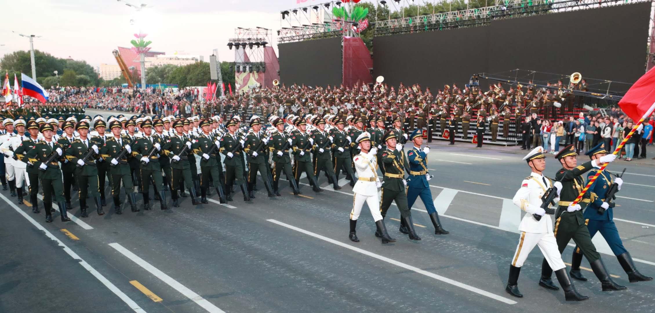 解放军仪仗大队将再度亮相白俄罗斯阅兵式