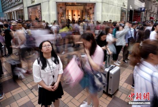港媒:香港5月零售销货值跌1.3% 料旅游业增长可带来支持