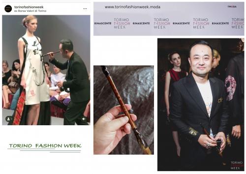 意大利设计师DavidSylvia&郝为民闪耀时尚欧洲