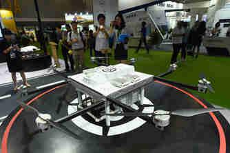 2019中国国际物流博览会开幕 无人机成亮点