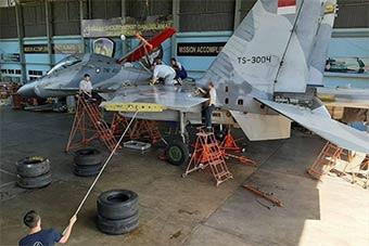 印尼空軍最強戰機亮相 在俄專家指導下維護
