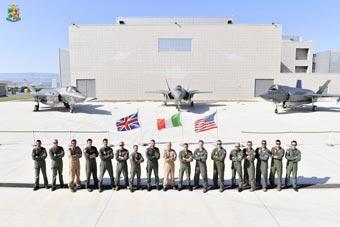 美英意F-35聯合訓練 共享數據鏈成為重要環節
