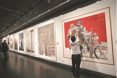 中国画作品展在宁开展