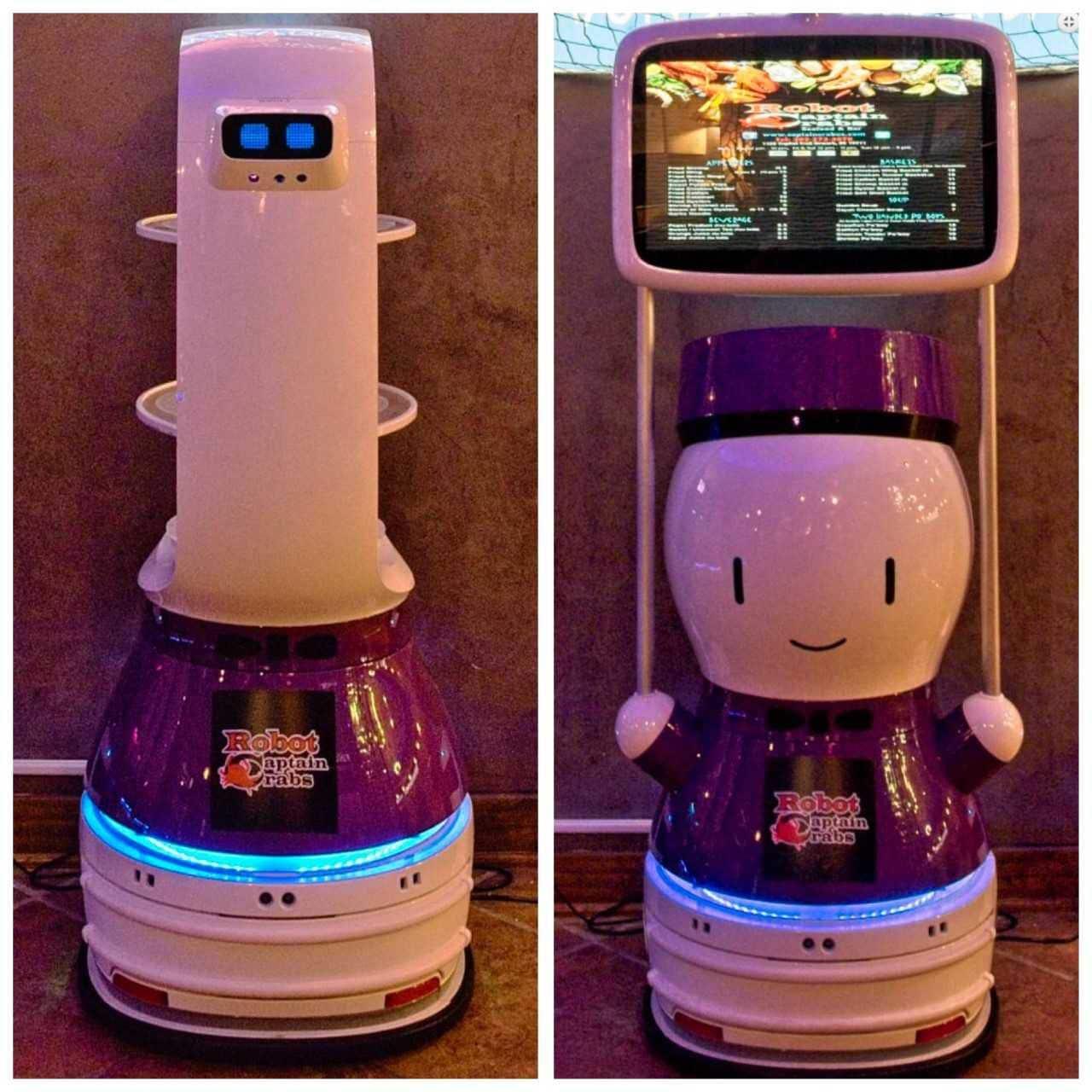 中国机器人漂洋过海服务美国餐馆 广受食客好评