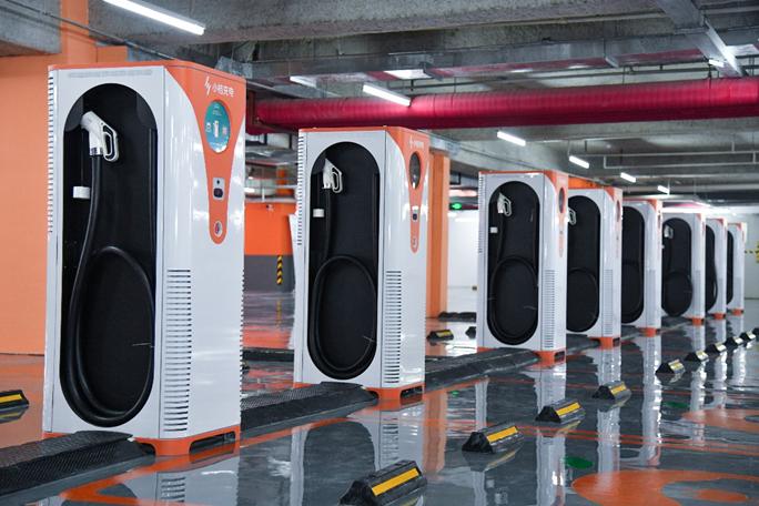 滴滴成立充电桩合资公司 布局新能源汽车