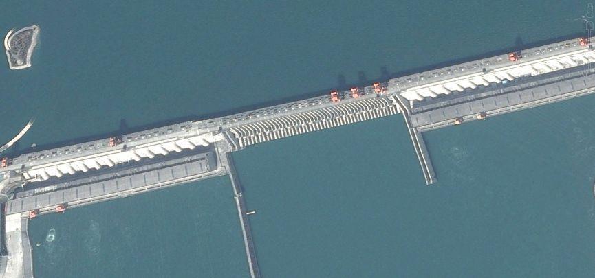反华分子拿三峡大坝搞事,结果被中国航天看到了
