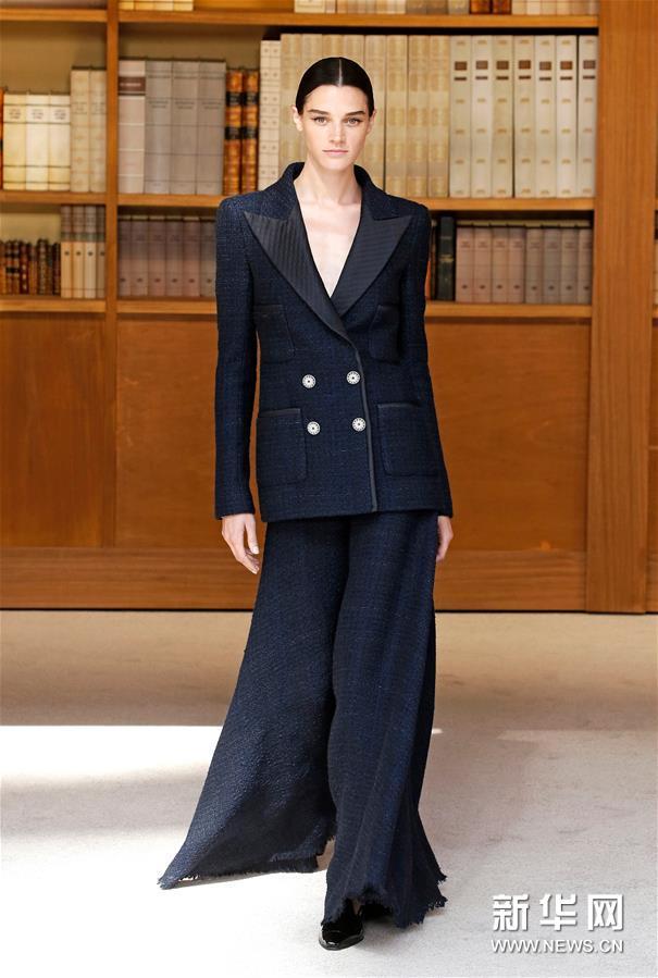 巴黎高级定制时装周——香奈儿发布秋冬新品
