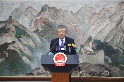 中国驻英大使刘晓明:在大是大非问题上,英国政府选择站在错误一边