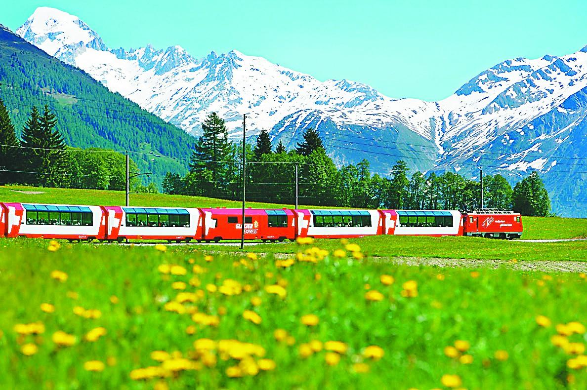 环游 | 在瑞士坐火车,不无聊不心塞