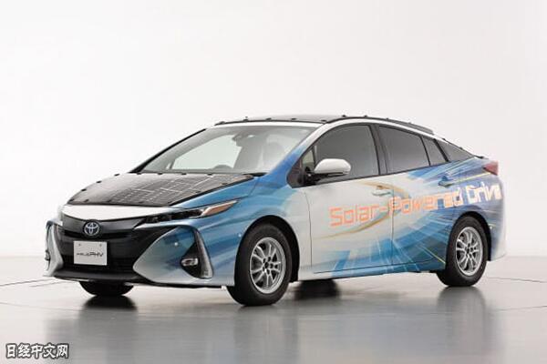 夏普与丰田共同研发的光伏充电电动车将上路测试