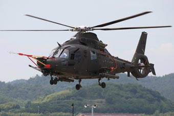 武直九的遠房親戚?韓國新型武裝直升機首飛