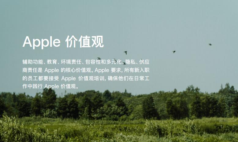 苹果发布企业社会责任报告:展现负责任企业态度