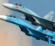 俄战机升空拦截美侦察机