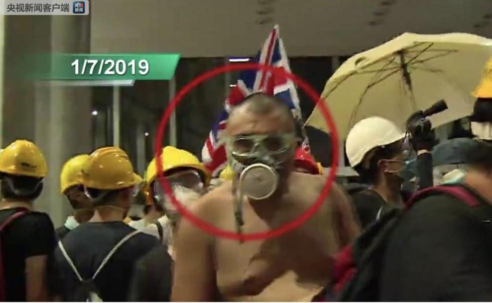 一男子涉案包围香港警察总部及冲击立会被起诉