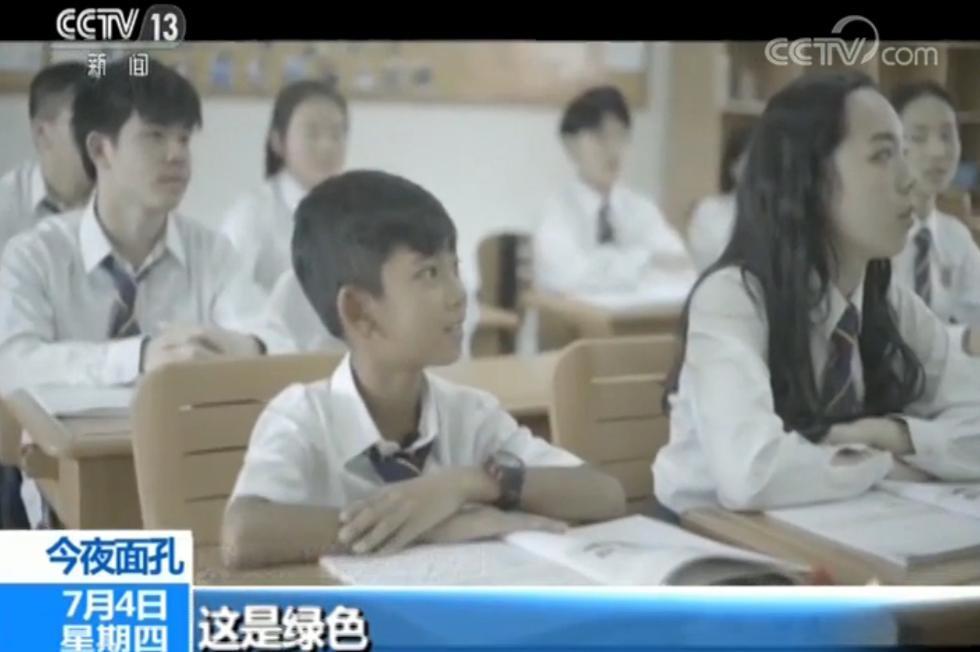 """柬埔寨""""网红""""男孩沙利来华求学:喜欢中国 想考北大"""