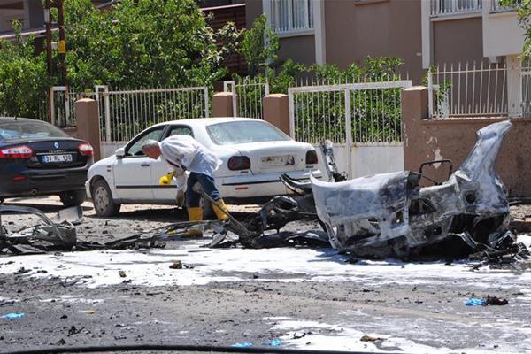 土耳其邊境地區汽車爆炸致3人死亡