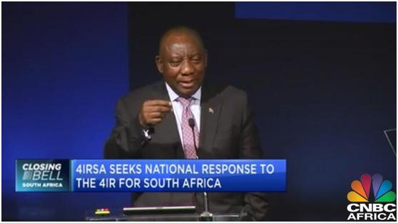 """南非总统:美国""""惩?!被?,是因为嫉妒华为超越了他们"""