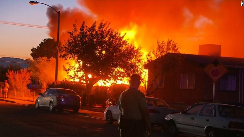 加州6.9級地震引發大火 專家:恐有更多余震