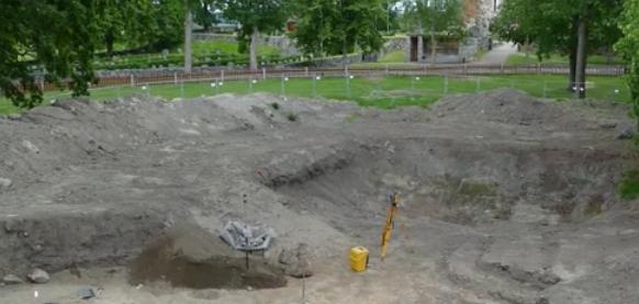 瑞典出土罕見船葬遺址 可追溯至1200年前