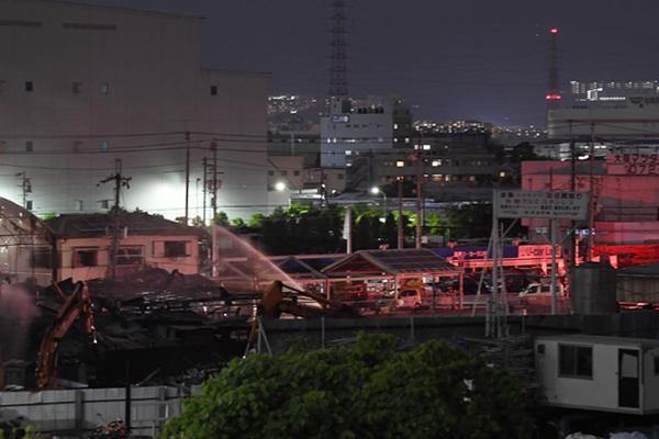日本大阪一公司倉庫爆炸起火1死3傷