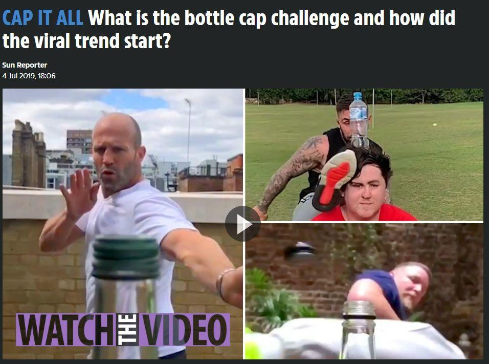 瓶盖挑战是什么?它是怎么火起来的?