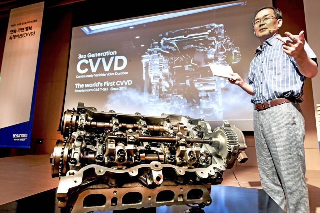 现代公布新型CVVD发动机技术 索纳塔试水