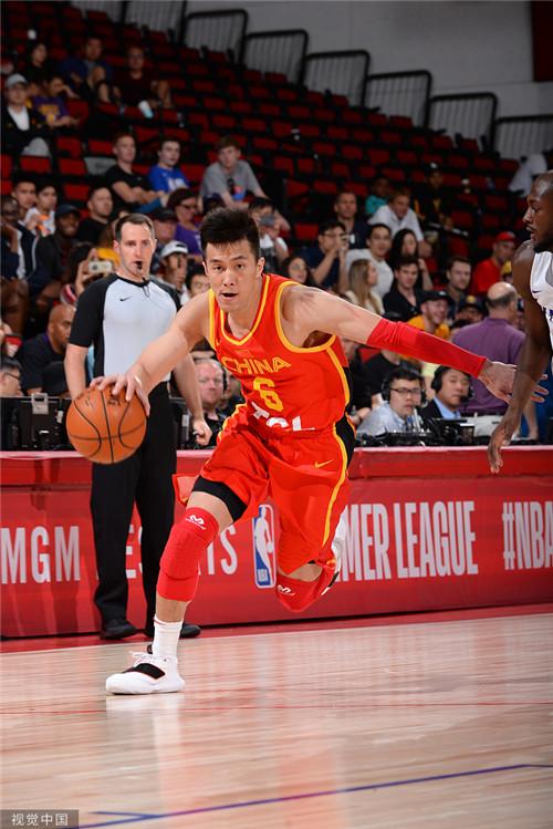男篮NBA夏季联赛 郭艾伦获对手称赞