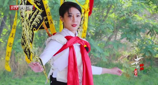 花样中国演员演绎花式旋转 古老与现代艺术对话