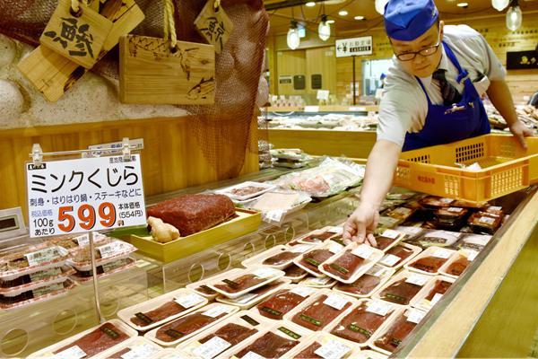 日本恢復商業捕鯨 大批鯨肉積壓無人問津