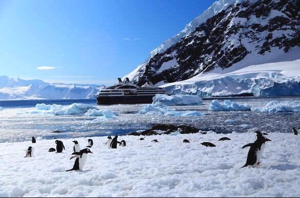 南极旅游悄然兴起