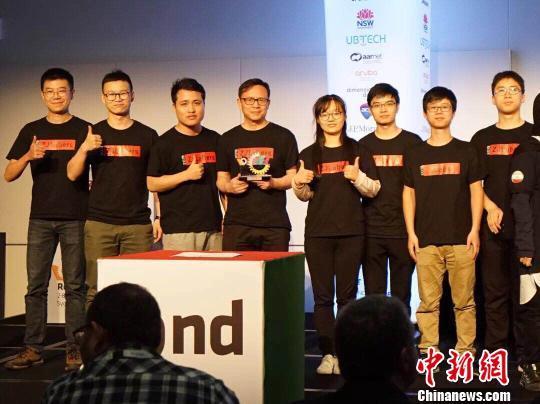 中国机器人球队斩获机器人世界杯中仿组亚军
