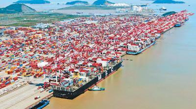 中国持续扩大开放释放红利(国际论道)