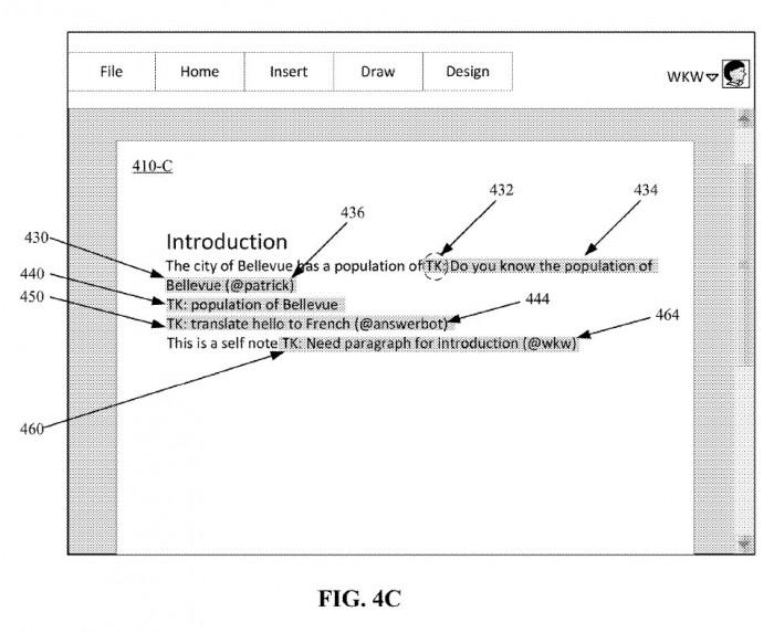 微软获批内联注释混合智能专利 简化Word等内容协作