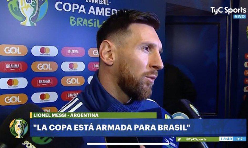 梅西可能被南美足协禁赛!或无缘?#20048;?#26479;+世预赛?