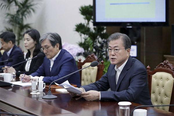 韓國現抵制日貨現象 文在寅:政府和企業同舟共濟