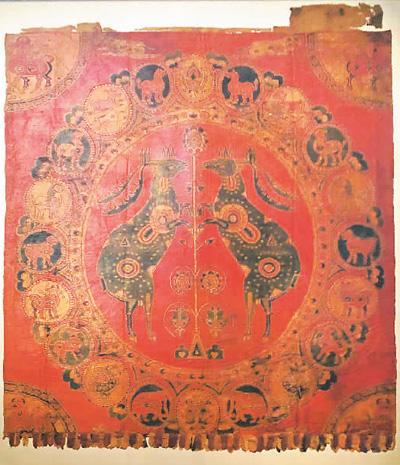 吐蕃文物大展亮相敦煌 再现千年前丝路文化盛景