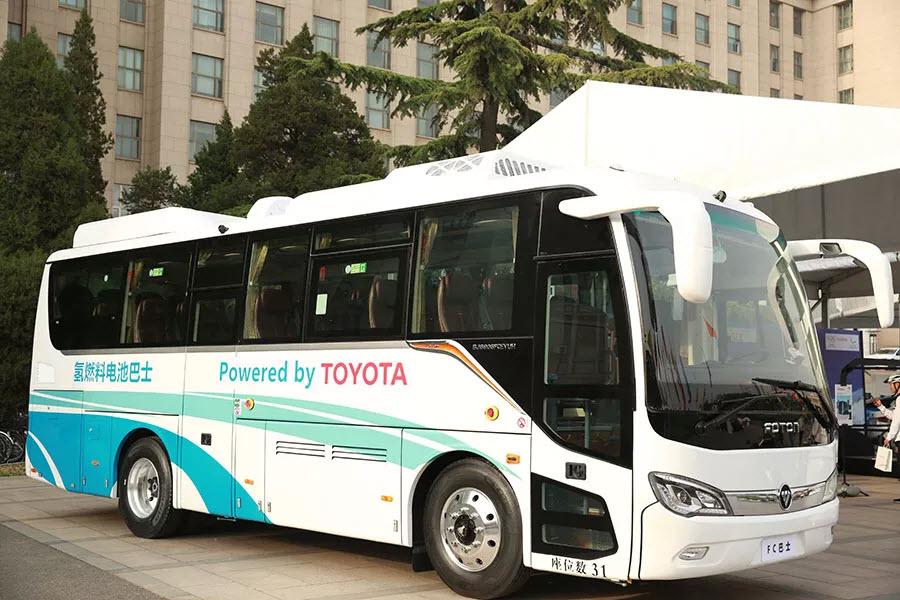 丰田将向一汽与海格客车提供氢燃料电池技术