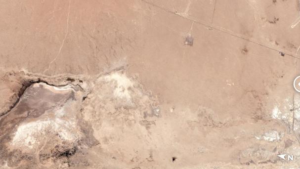 两次地震后,卫星照片显示:加州出现一条巨大裂缝
