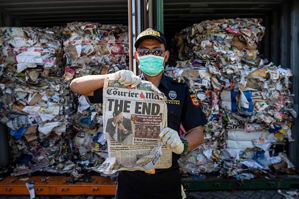 印尼將退回來自澳大利亞進口垃圾 重超210噸觸目驚心