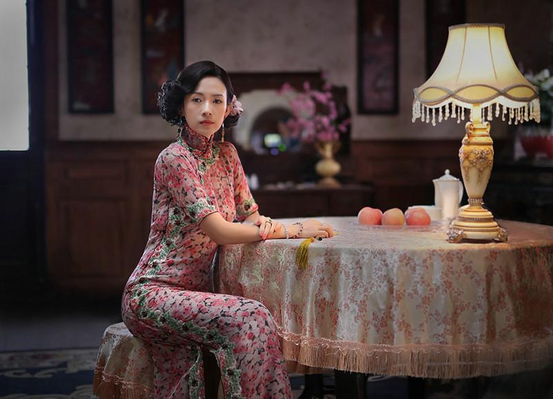 章子怡杨雪倪妮宋轶 最适合穿旗袍的女明星