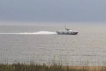 美军秘密测试隐身战舰 能以60节速度海上狂飙