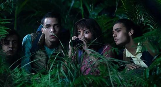 《朵拉与失落的黄金城》预告 丛林探险笑料百出