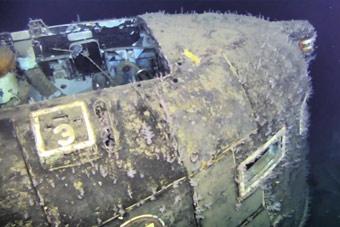 苏联起火沉没核潜艇残骸曝光 已监测到核泄漏!