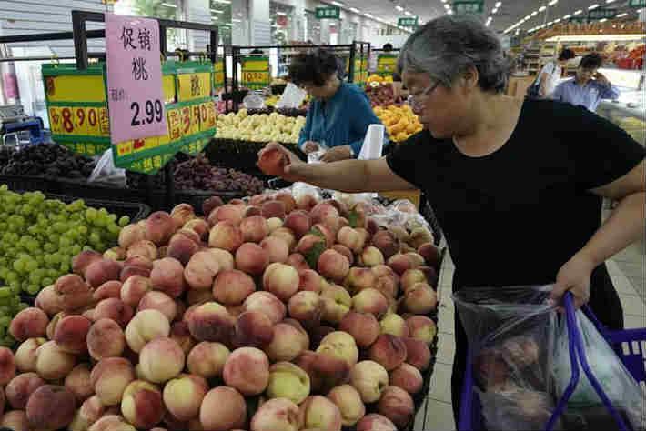 6月份全国居民消费价格同比上涨2.7%