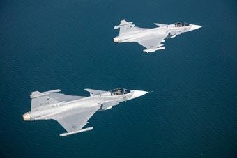 小国硬气的资本?瑞典自研最强战机原型机亮相