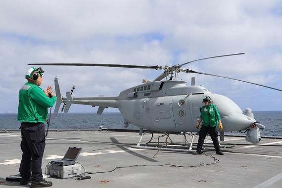 美军新无人舰载机形成战力 将上濒海战斗舰
