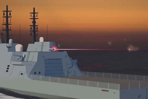 欲在未來戰場搶先一步?英國投巨資研發激光武器