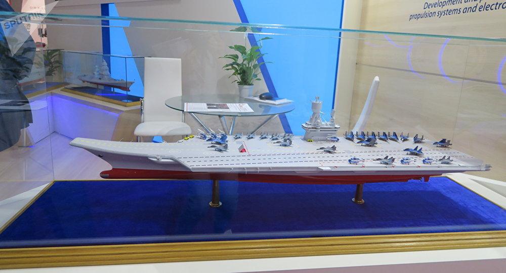 俄媒:俄軍近期將簽新航母合同 蘇57或將上艦