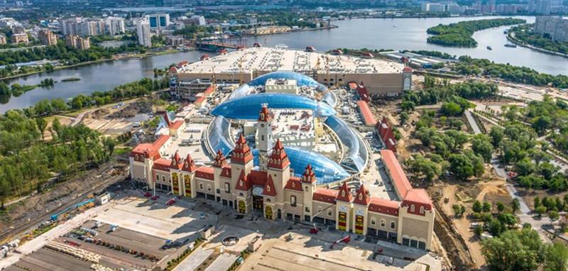 莫斯科建欧洲最大室内主题乐园 年底有望开放