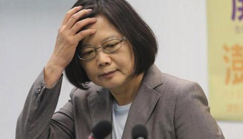 """绿媒称蔡英文在美国与台湾随行记者茶叙是""""突破"""",被讽""""精神胜利法"""""""